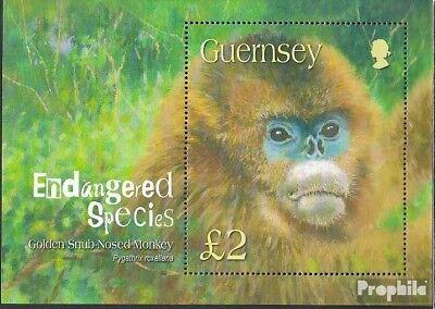 Purposeful United Kingdom-guernsey Block36 Mint Never Hinged Mnh 2004 Affe