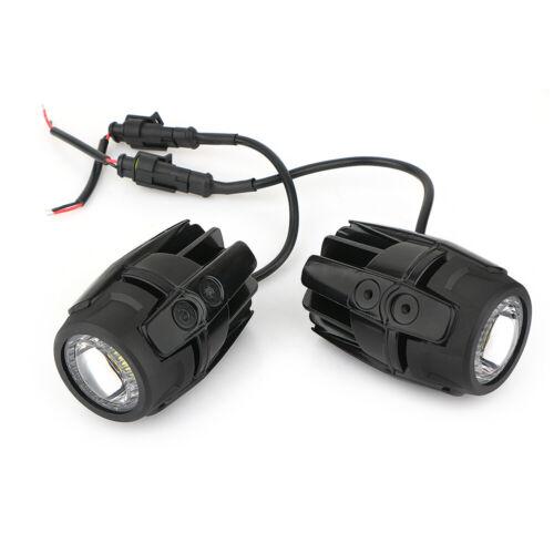 2x LED Fari supplementari spot Nebbia Lampada Auxiliary per BMW r1200gs ADV f800gs