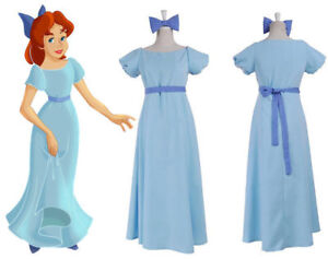 b4b05888c4926 Details about Film Peter pan wendy Rachael Cosplay costume party dress  Women Long Dress New