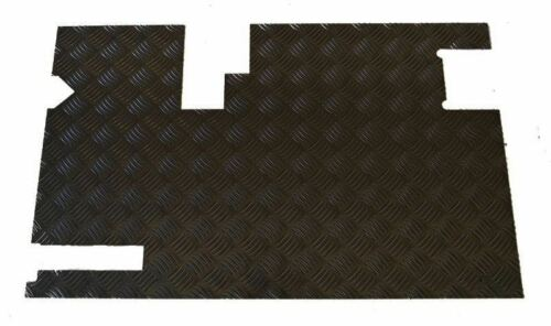 Raptor 4x4 Land Rover Defender Rear Door Chequer Plate Protector Black