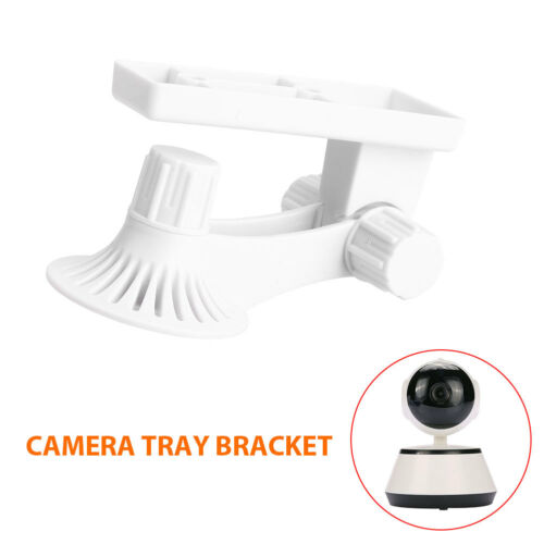 Wall Mount Bracket ABS Camera Stand IP Camera 180degrees Surveillance White