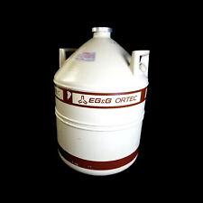 Egampg Ortec Ln2 30 Liter Liquid Nitrogen Dewar Tank