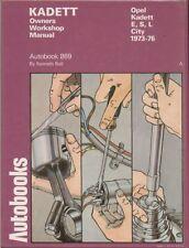 OPEL KADETT C 1.0 1.2 SALOON HATCHBACK COUPE 1973 - 1976 WORKSHOP MANUAL * VGC *