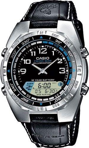 Casio AMW700B-1AV, Fishing Timer, Moon Phase, Countdown Alarm, 100 Meter WR