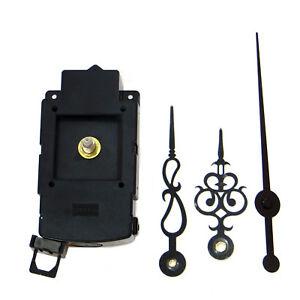 Meccanismo-movimento-orologio-PENDOLO-lancette-sostitutivo-quarzo-silenzioso