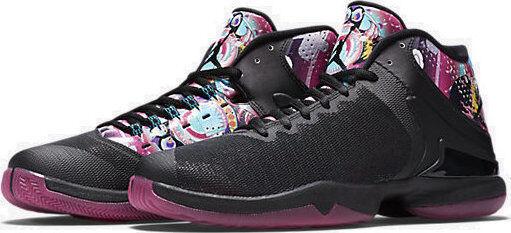 Nike Jordan Super. Fly 4 PO CNY 100% Authentique Nouveau paniers Homme 840476 060 NOLID