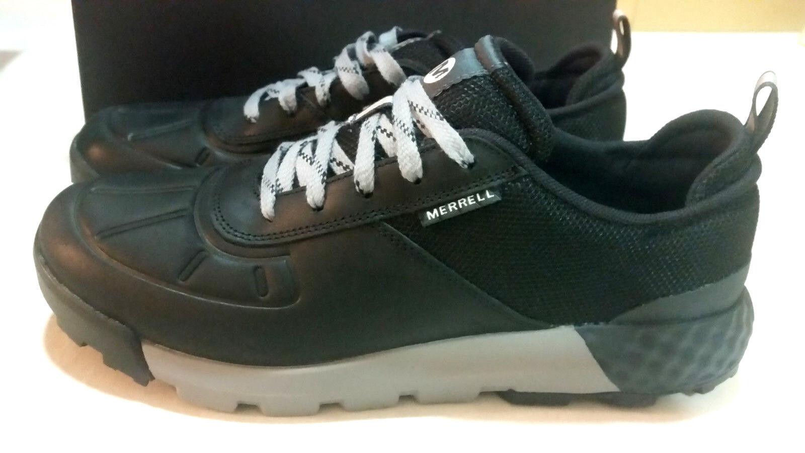 MERRELL CONVOY  AC Men's leather HIwing scarpe Dimensione US 10.M nero  consegna gratuita e veloce disponibile