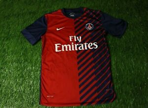 online store 3ba0d 71c82 PSG PARIS SAINT-GERMAIN 2012/2013 FOOTBALL SHIRT JERSEY ...