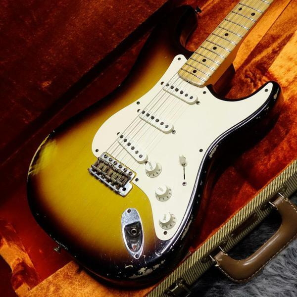 Fender Custom Shop 1956 Stratocaster Relic 2Farbe Sunburst 2009 JAPAN EMS F/S