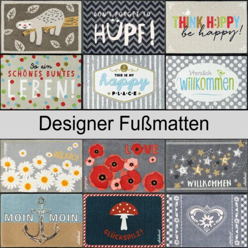 wash+dry Design LicencesHappiness Fußmatte Sauberlauf in verschiedenen Größen