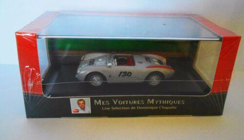 Porsche 550 Spyder 1955  ATLAS COLLECTIONS 1\43 D.CHAPATTE 2891 021