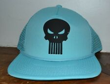 Punisher Trucker Style Adjustable Hat Cap Licensed Marvel Merchandise