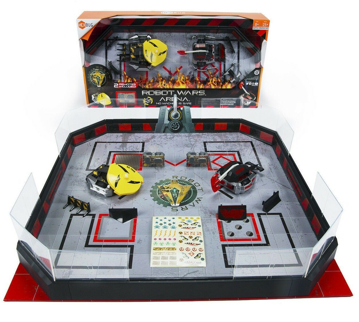 Hexbug Robot Wars Arena Fordable Juguetes 2 Battle Bot Robots-Royal Pain Impulse