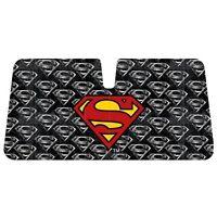 Superman Car Reflective Windshield Sun Shade Sun Visor - Superman Logo Emblem