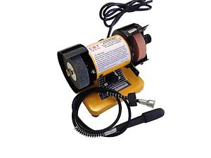 3 39 39 Mini Bench Grinder Polisher With Flexible Shaft 10 000rpm Ebay