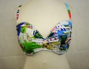 a Cc Multi Uk Size Successivo Top Bikini £ stampata Dh077 Rrp 38e 28 fascia 03 1xSpAw5q