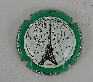 capsule champagne générique personnalisé cuvée parisienne CHAURE J L n°4