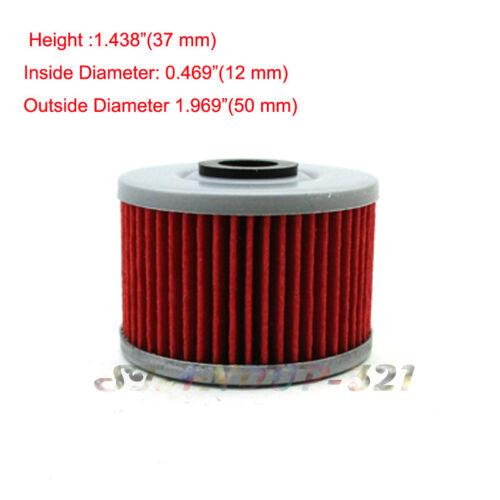 5 Oil Filter For EC400 POLARIS PREDATOR OUTLAW 500 SUZUKI DRZ110 KAWASAKI BN125