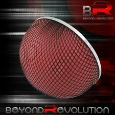 3 Inlet Cold Air Short Ram Red Foam Mushroom Air Filter 76mm Intake Upgrade Jdm Fits More Than One Vehicle
