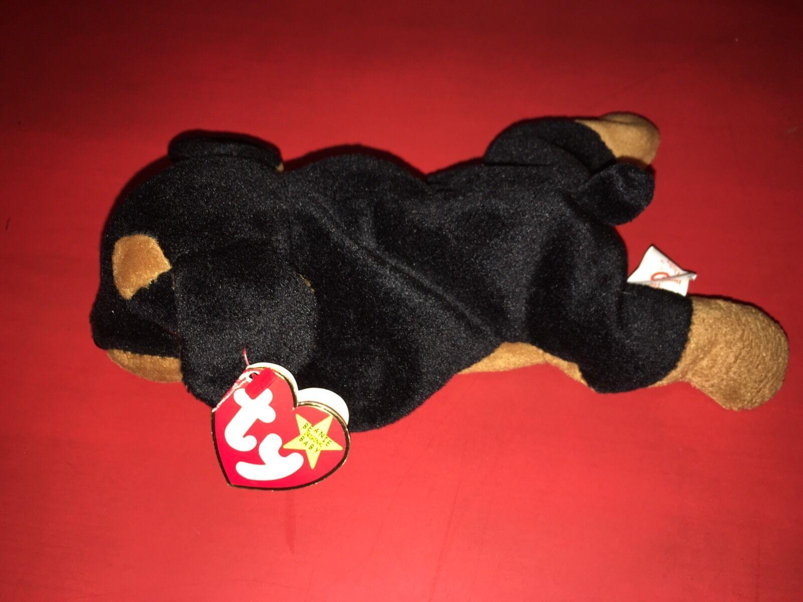 RARE Ty Doby Beanie Baby 1996 PVC Pellets