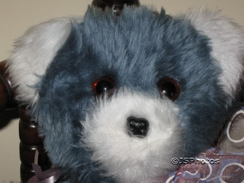 Sunshine giocattoli giocattoli giocattoli UK blu furry plush orso 1970s f0db28