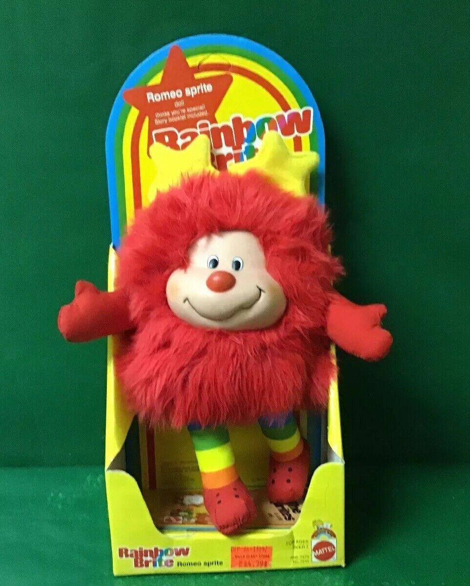 1983 Rainbow Brite  Romeo Sprite  ENLOMADOR NIC por Mattel