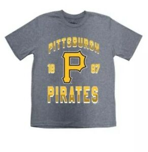 87df8e48 PITTSBURGH PIRATES MLB YOUTH LARGE XL LOGO T-SHIRT BY STITCHES NWT ...