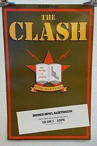 The-Clash-Know-your-rights-Casbah-Club-tour-poster-1982
