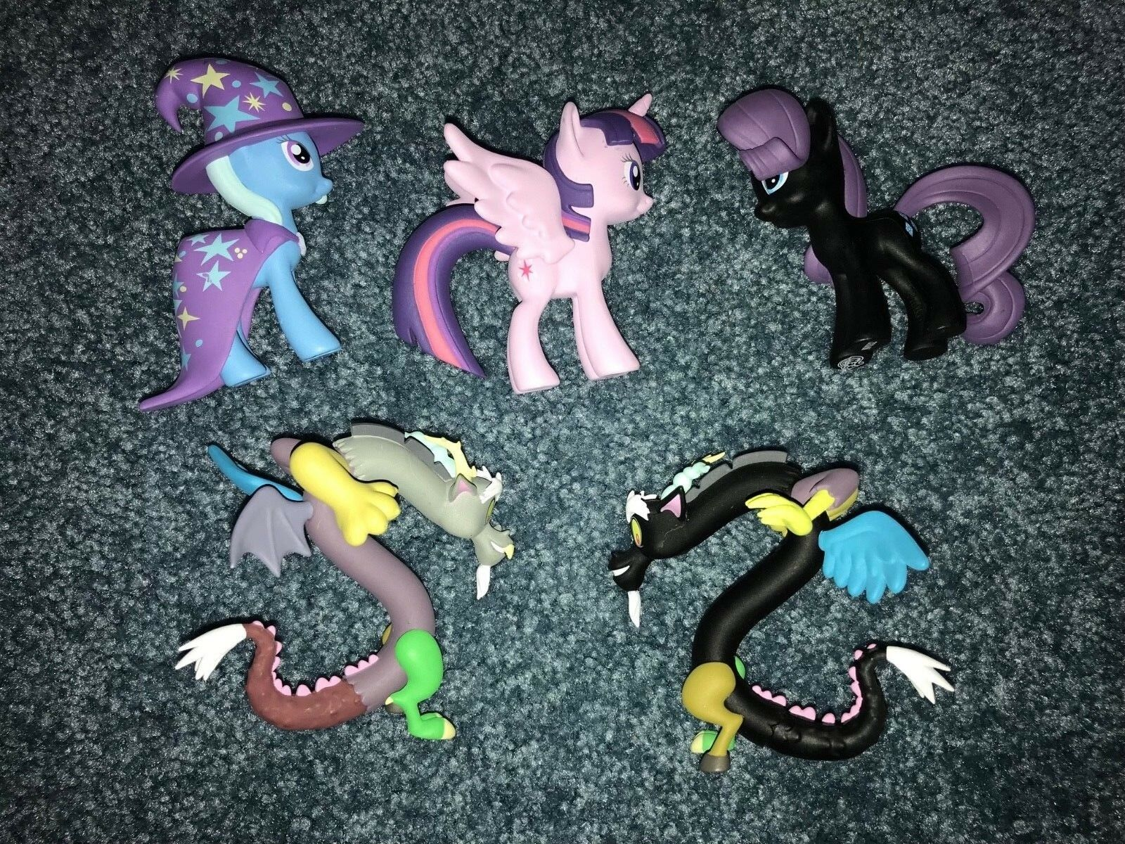 Lot of 5 Opened but NEW My Little Pony Funko Mystery Minis figures from Series 2