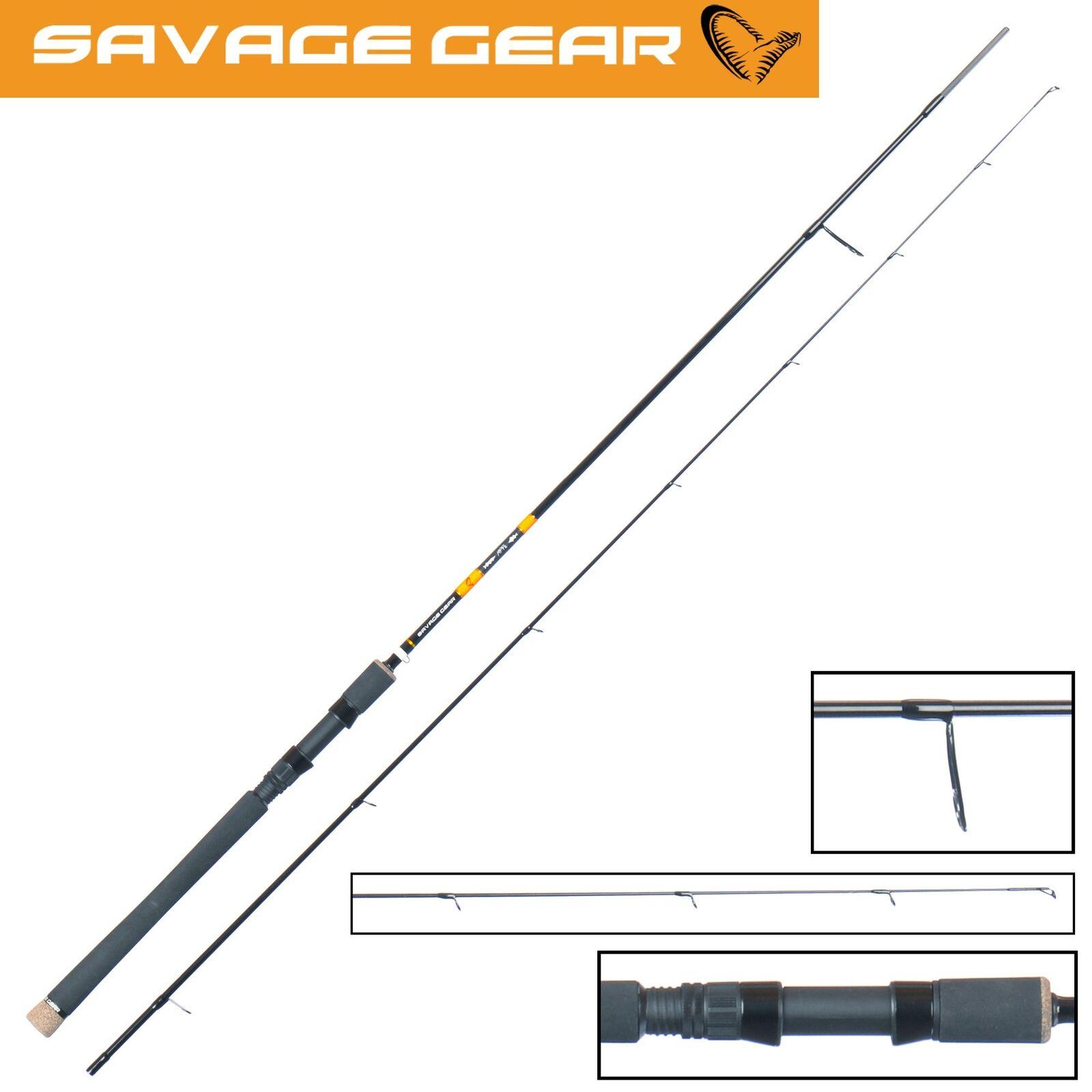 Savage Gear MPP2 Spin 221cm 7-23g - Spinnrute für Barsch, Angelrute, Blinkerrute