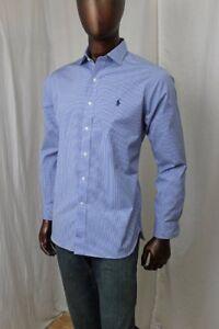 968a9dfca3d POLO By Ralph Lauren Blue Plaid Button Down~Spread Collar~ NWT ...