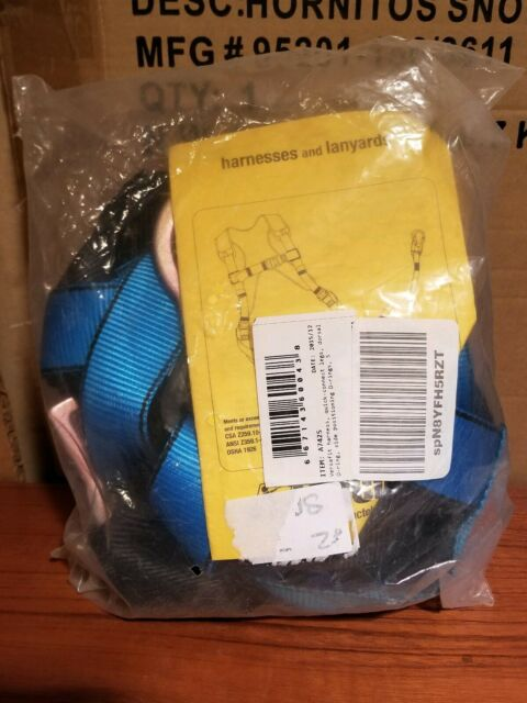 Tractel A742s Versafit Safety Harness Full Body Legs One