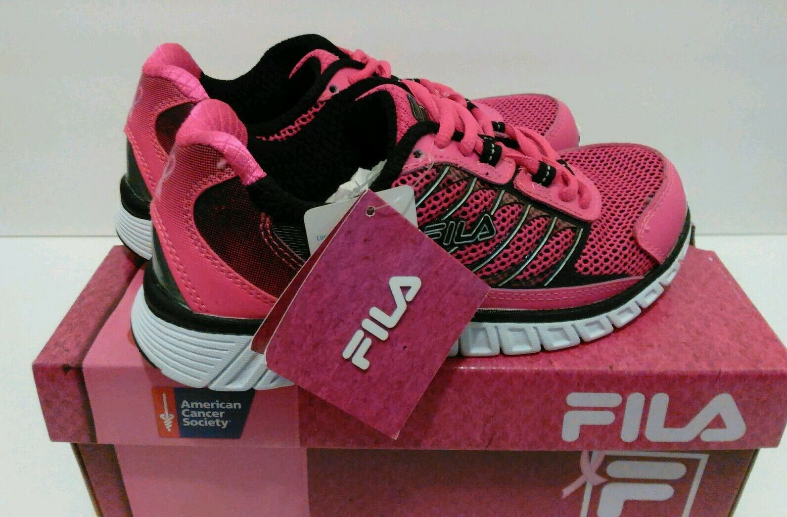 NEW Women's FILA Hyper Split 4 BC Running Walking Shoes Price reduction Breast Cancer best-selling model of the brand