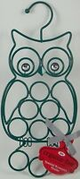 Hoot Owl Jewelry Accessory Holder Organizer Necklace Earrings Bracket 14h