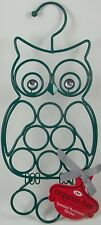 "Hoot Owl Jewelry Accessory Holder Organizer Necklace Earrings Bracket 14""H"