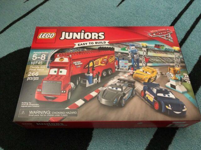 LEGO Juniors NEW 10745 Florida 500 Final Race Disney Pixar Cars 3 Movie