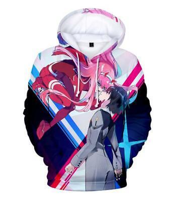 Systematisch Darling In The Franxx Anime Kapuzen Sweatshirt T-shirt Hoodie Pullover Pulli