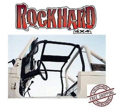 Rock Hard 4x4 Parts RH-1035 Bolt-In Ultimate Sport Cage C-Pillar Brace Kit