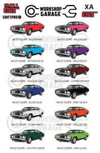 Ford-XA-GT-351-V8-Sedan-Sticker