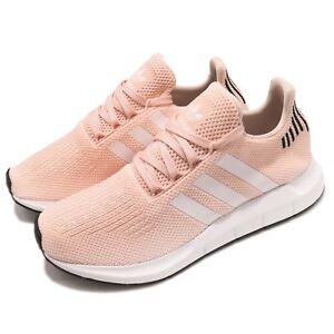 d0c6aff55590e adidas Originals Swift Run W Pink Black White Women Running Shoes ...