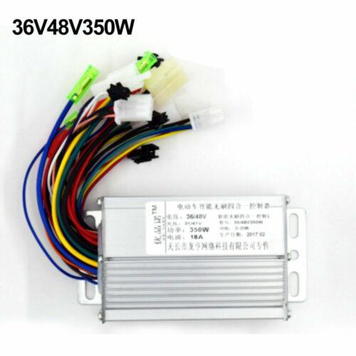 350W 48V36V Brushless Regulator Controller Speed Scooter E-bike Electric-Motor