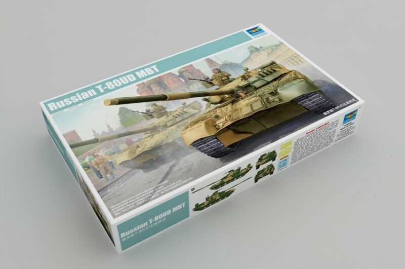 09527 Trumpeter Russian T-80UD MBT Tank Plastic 1 35 Scale Model Armor Kit