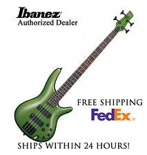 *IBANEZ SR300B MKK ELECTRIC BASS GUITAR METALLIC KHAKI * SET-UP, FREE SHIPPING*
