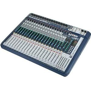 SOUNDCRAFT SIGNAURE 16 (open box-new free shipping in Canada) Québec Preview
