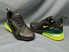 Nike Air Max 1 (gs) Athletic SNEAKERS Black Pink Green Girls Size ...