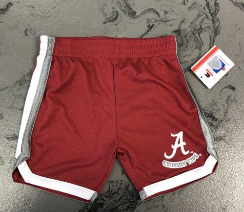 University of Alabama Toddler Boy/'s Crimson Athletic Gym Shorts