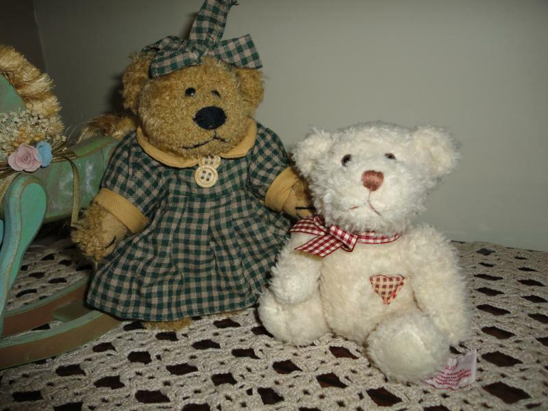 Russ Plus Baby Bear  & Big Sister Lot of 2
