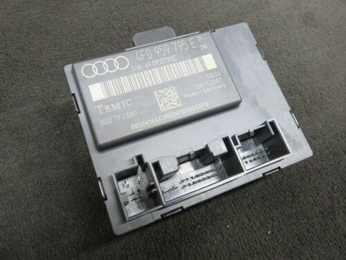 Audi A6 4F Türsteuergerät hinten links Ambientebeleuchtung 4F0959795E 4F0910795E