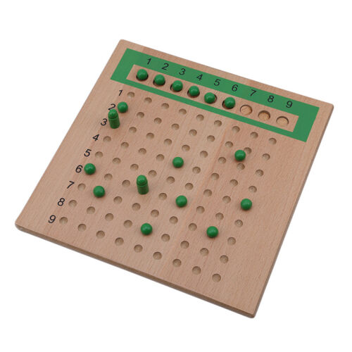 Montessori Addition Subtraction Multiplication Mathematics Wooden Strip Board N7