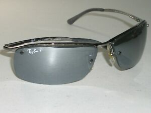 RAY BAN RB3183 004/82 6315 GRAY GRADIENT MIRROR ...